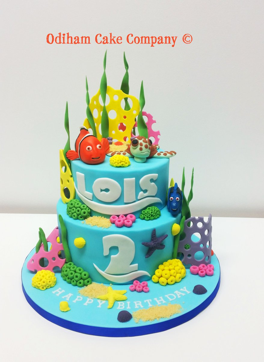 Stupendous Odiham Cake Company On Twitter Just Keep Swimming Finding Nemo Funny Birthday Cards Online Elaedamsfinfo
