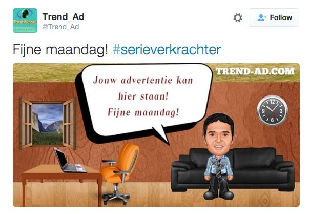 Adverteer bij een trending #, wat kan er nou misgaan? https://t.co/J3vo6lvhQ0