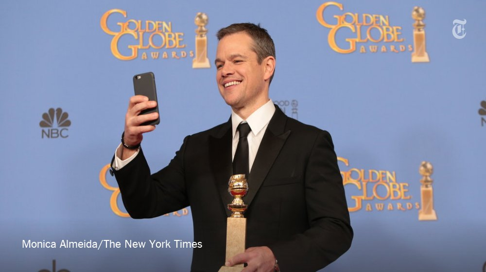 Twitter Did Not Understand Why 'The Martian' Won Best Comedy