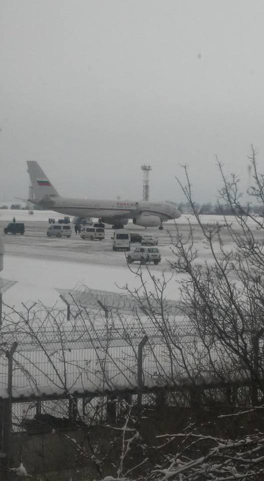 Самолет первых лиц России тайно приземлился в Борисполе