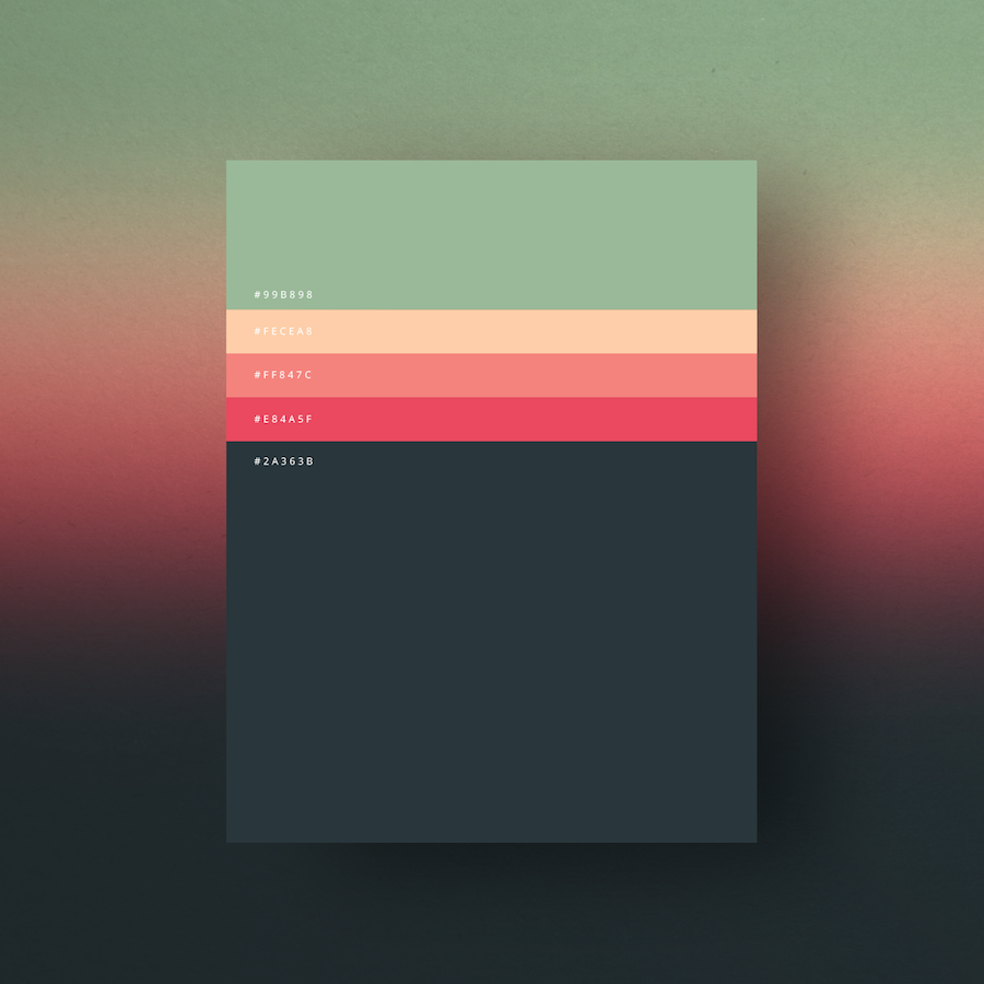 "Fubiz On Twitter: ""The Minimalist Color Palettes Of 2015"