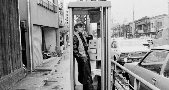 These are some photo of Bowie hanging out in my neighborhood in 80s.  It's a legendary story for Kyoto local people. https://t.co/LwH8hWHALf