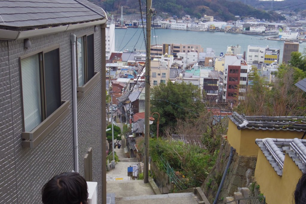 広島県尾道市、アニメたまゆら、かみちゅ!の聖地巡礼で行ったけど、独特の雰囲気の街で好き https://t.co/QqLxbqluIv
