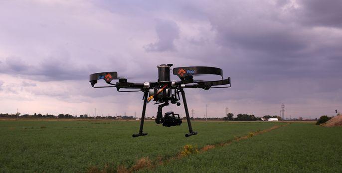 Droni, l'ultima rivoluzione con i veivoli gonfiabili, piccoli dirigibili a Roma Drone Conference