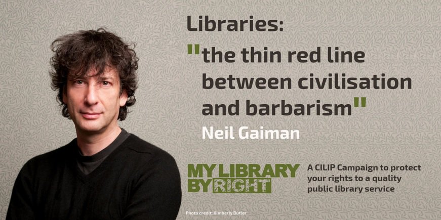You have the right to a quality public library service. Protect it: https://t.co/XxNFubeK76 #MyLibraryByRight https://t.co/6Ho1s10fs2