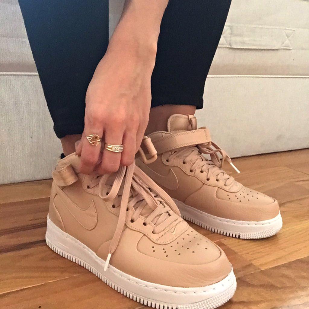 Nike Air Force Vachetta Tan