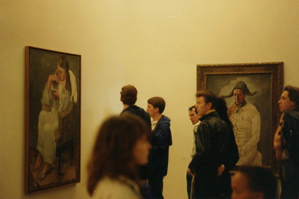 David Bowie at @MuseeLouvre, 1980