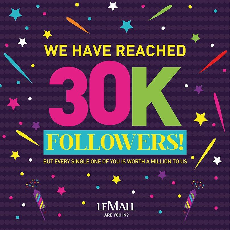30k Followers Instagram