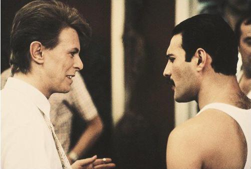 David Bowie e Freddie Mercury staranno cantando insieme Under Pressure