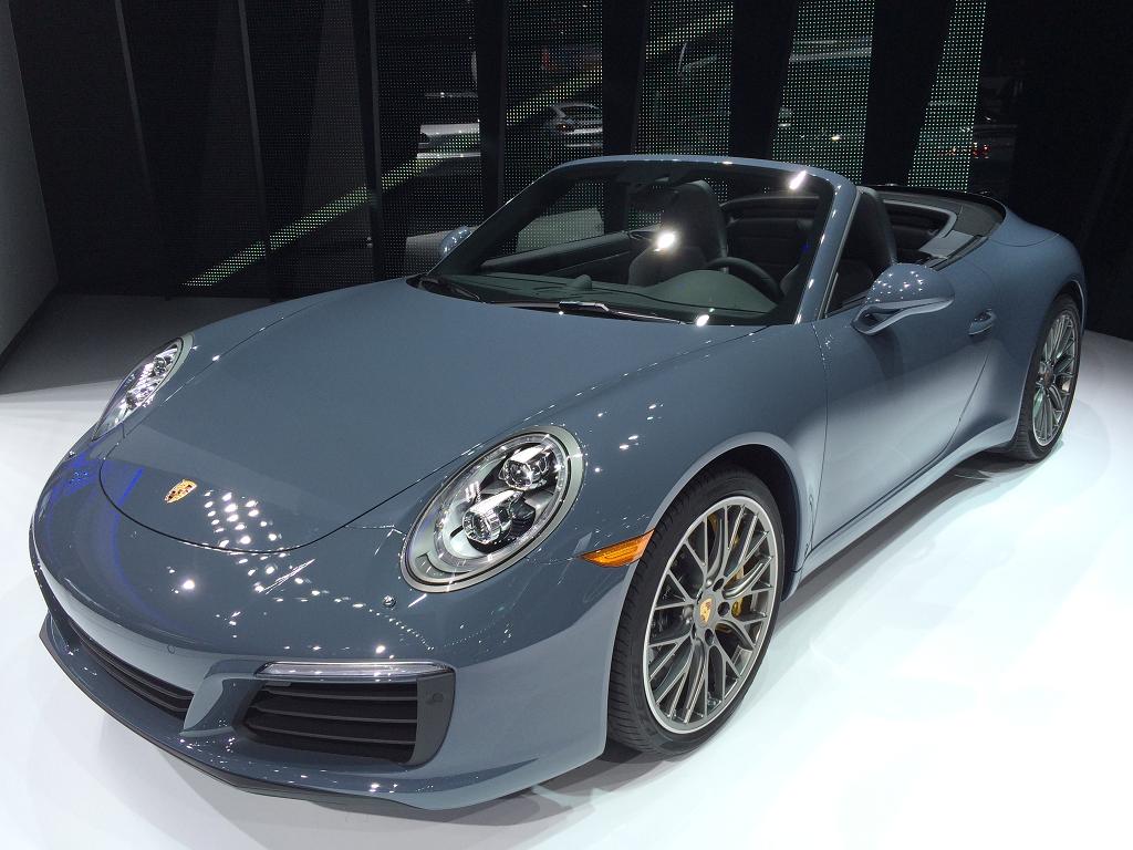 Porsche colors 2017