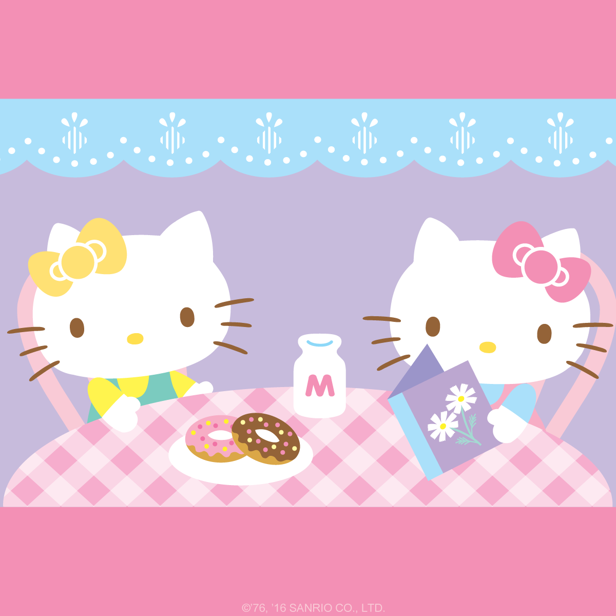 Hello Kitty Wallpaper For January