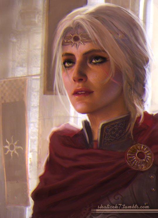 empress ciri by shalizeh witcher
