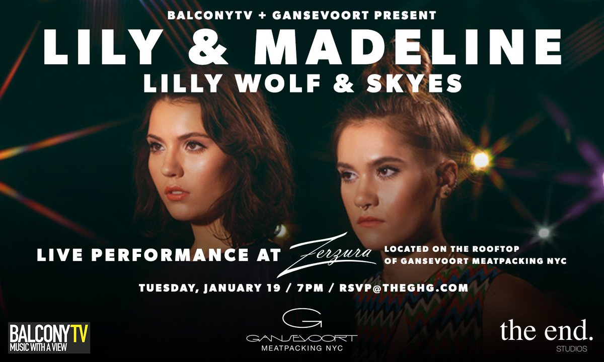 .@BalconyTVBK is back! On 1/19, @LilandMad, @skyesmusic + @lillywolf will perform LIVE.   https://t.co/Tt9qCEgpE8 https://t.co/LrcqLxZebX