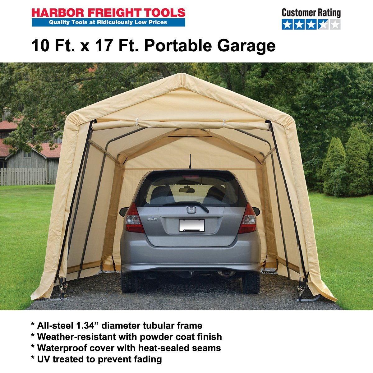 Harbor Freight Tools On Twitter 10 X 17 Port Garage Lasted