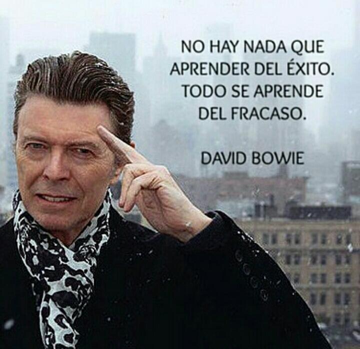 #BallondOr No hay nada que aprender del éxito todo se aprende del fracaso (David Bowie)