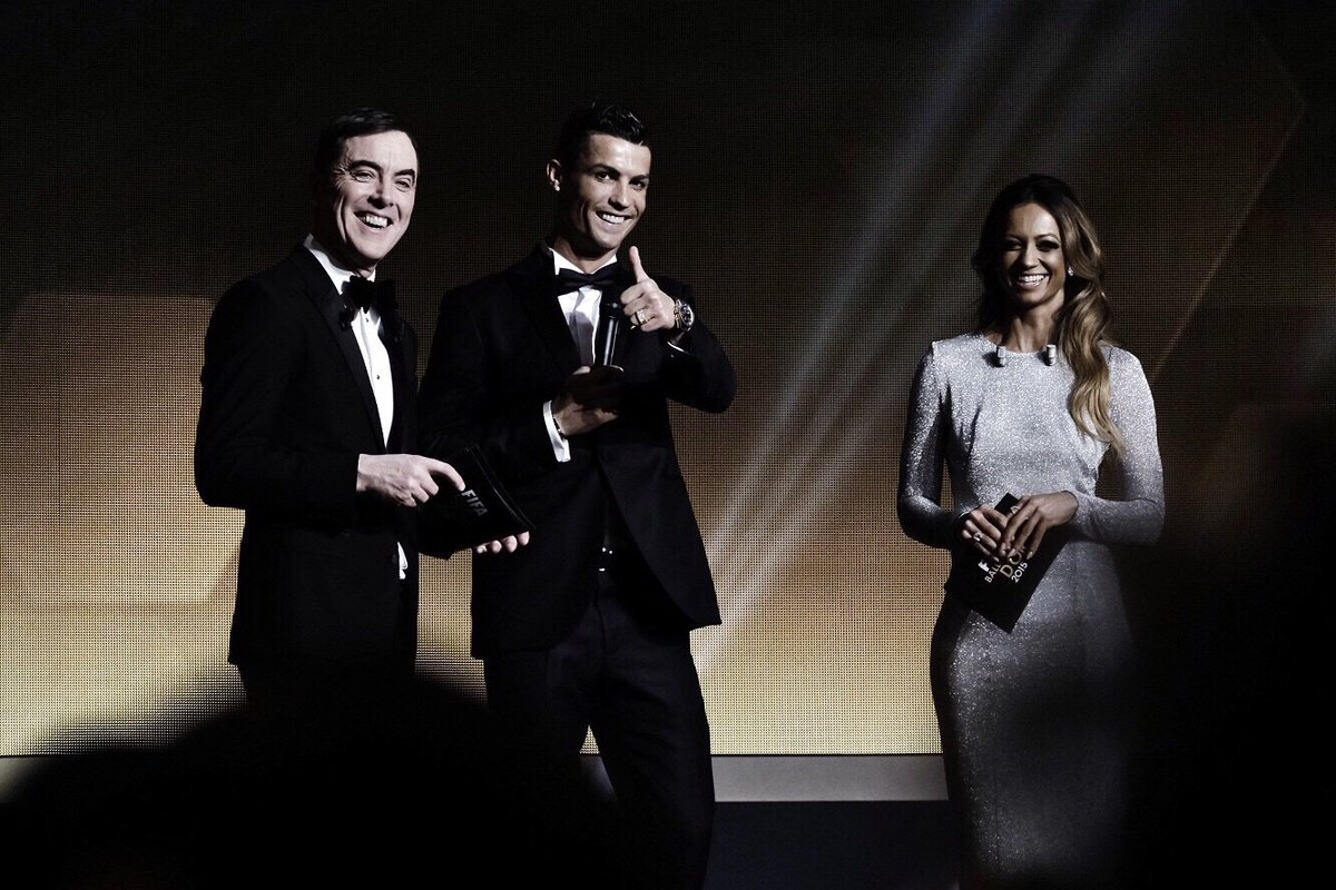 Happy to be a winner of FIFA FifPro world XI award 2015! #BallondOr