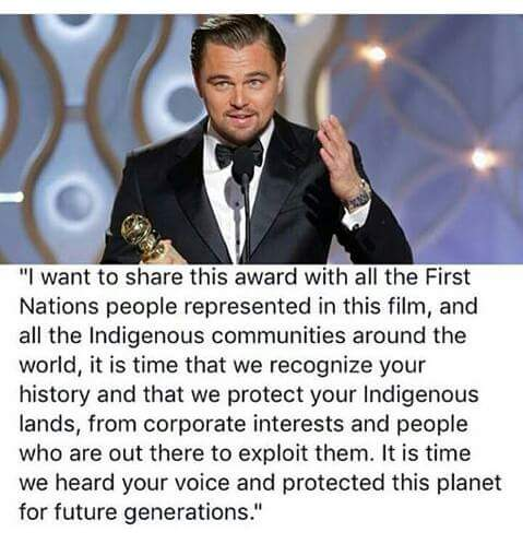 On behalf of our partners in the Amazon: thank you @LeoDiCaprio https://t.co/zR0GMR6iVX