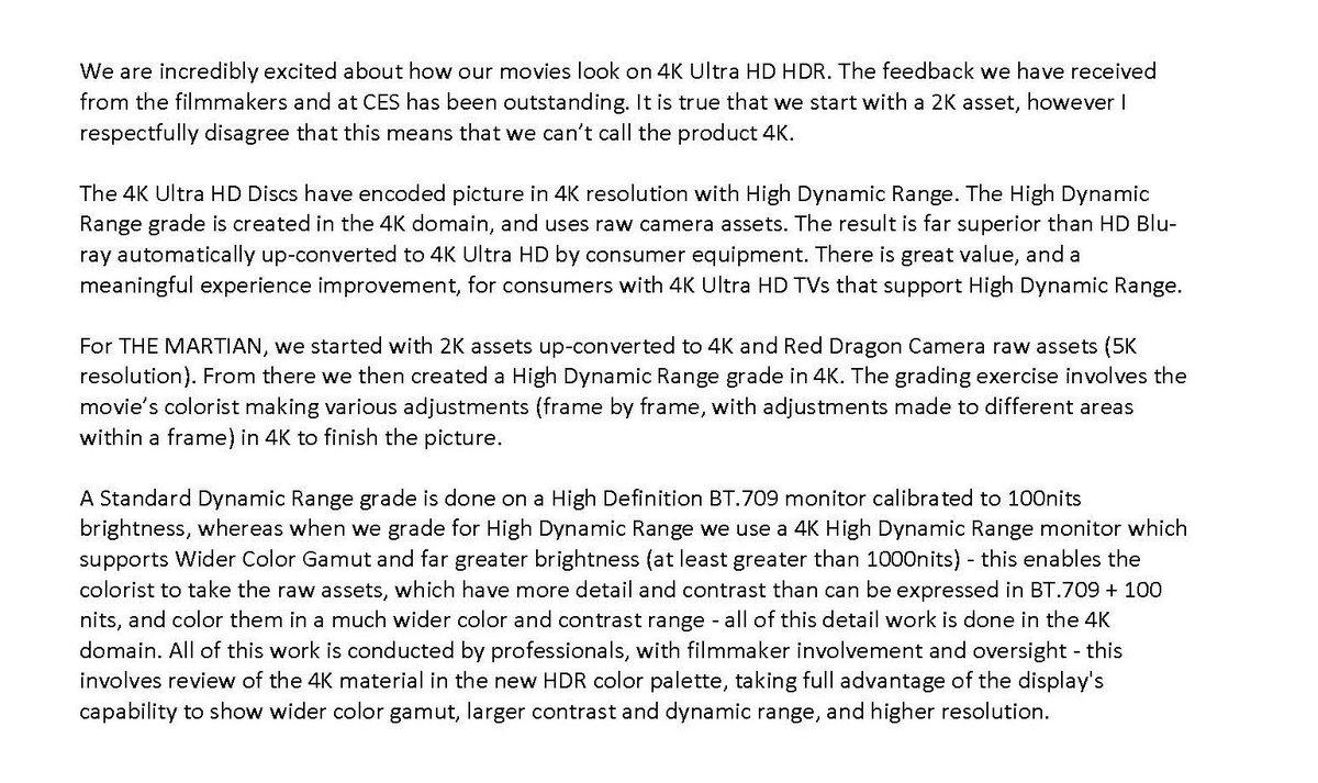 4K Blu-rays