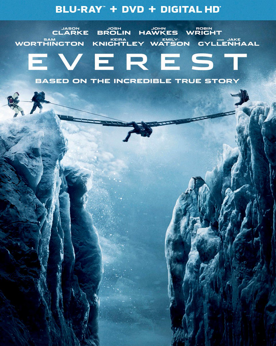 Enter now to win EVEREST on Blu-ray along with a limited edition carabiner! https://t.co/E6GDQTPJLb #EverestMovie https://t.co/DFMjmrgD01