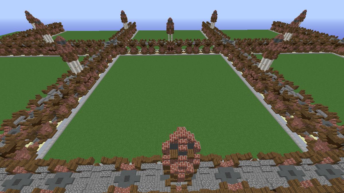 Minecraft plot roads schematic