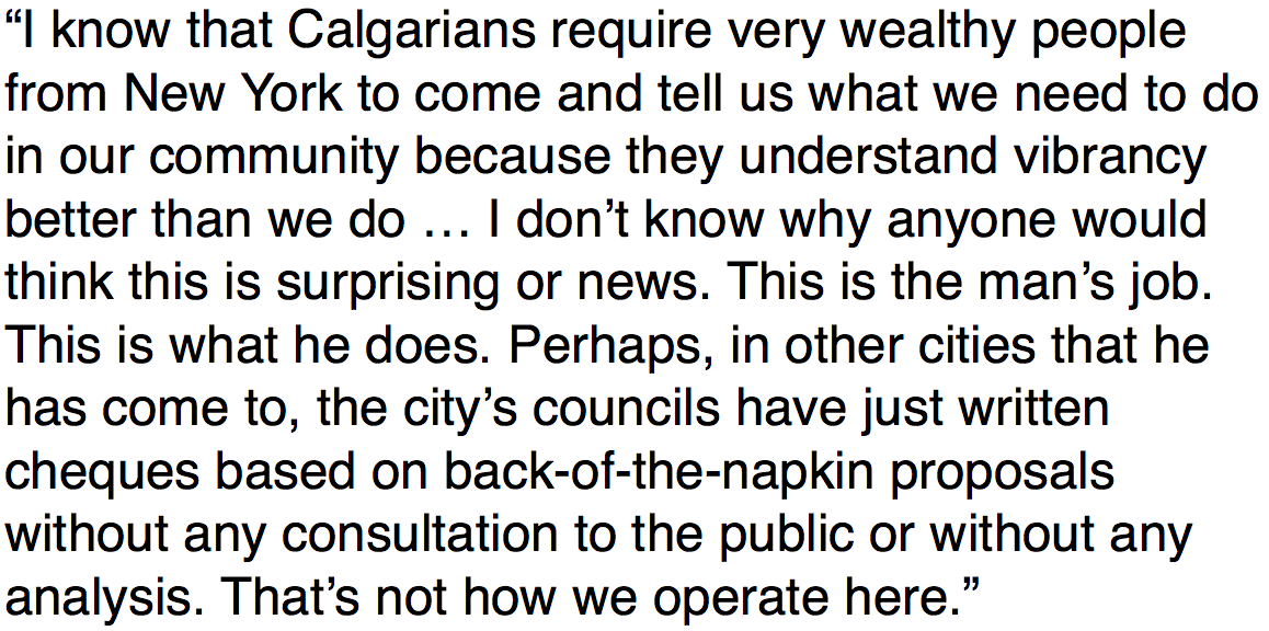 Calgary mayor fires back at Bettman after #NHL commish was politicking for new arena today: https://t.co/l9cVIHq1UO https://t.co/Mxsl6iHoPI