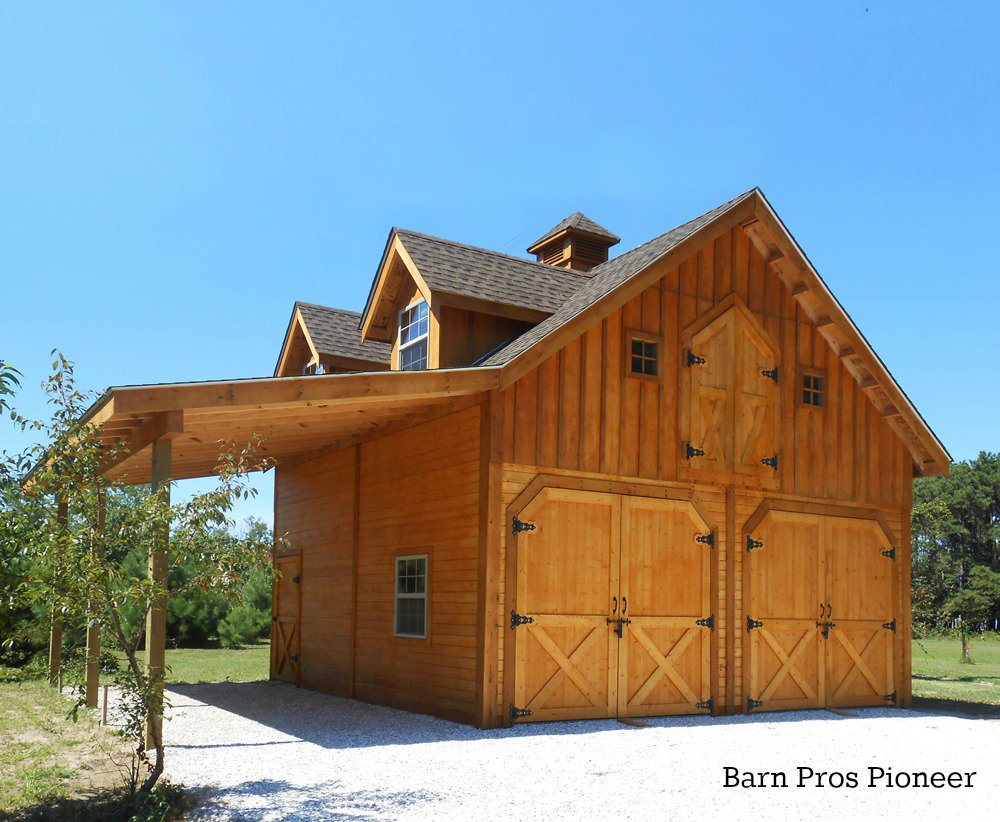 Barn pros on twitter quotbarn of the day barn pros pioneer for Barn pros nationwide
