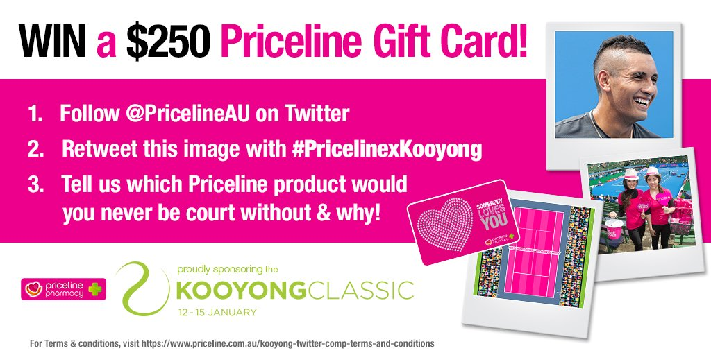 WIN a $250 Priceline Gift Card & ACE your look this summer! Follow instructions below to enter! #PricelinexKooyong https://t.co/ll1Ng4sd6B