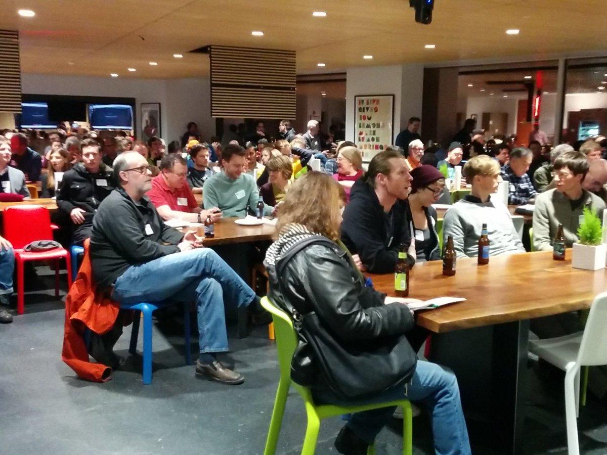 Big crowd for @rachelnabors talk at @newrelic https://t.co/UzOHZGnuWz