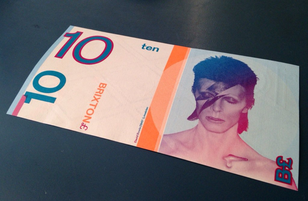 そういえば、こんなの持ってた。ロンドンの友人にもらった地域通貨。 https://t.co/v1mpNdh0eX
