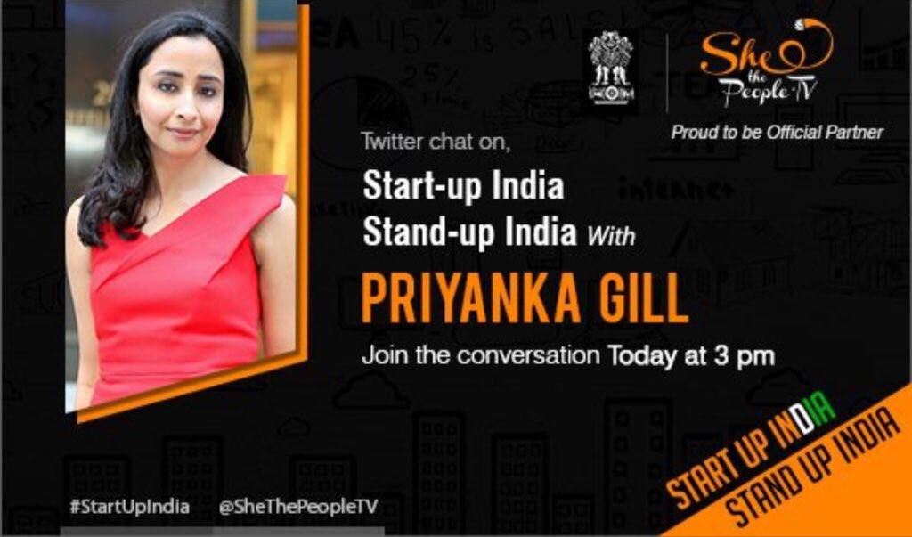 Come chat with me and @SheThePeopleTV about entreprenuership @POPxoDaily at 3pm #StartupIndia https://t.co/Ooz0RULHsC