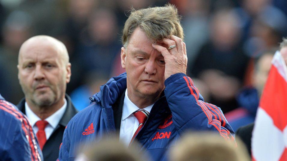 Louis Van Gaal, Manchester United, Kemarahan