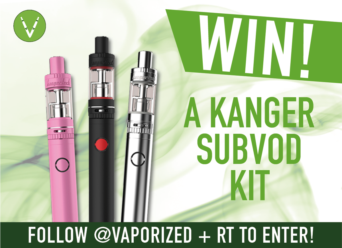 Win A Kanger Subvod Mod Kit Just RT F By 3pm Fri 15th Jan To Enter Vapeon Pictwitter MeaspiibOD