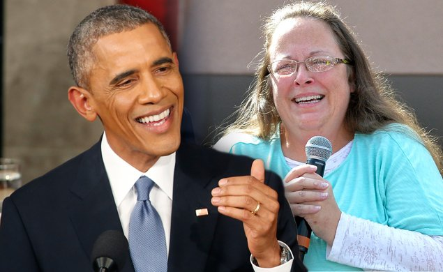 This May Not End Well: Kentucky clerk Kim Davis to attend @Potus' final #StateoftheUnion https://t.co/eThDCQxYSn https://t.co/MSPekd0FEb