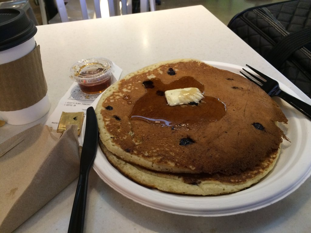Yes! Found some pancakes at the airport! #ThatDragonCancer https://t.co/xFwVlZ9CgB