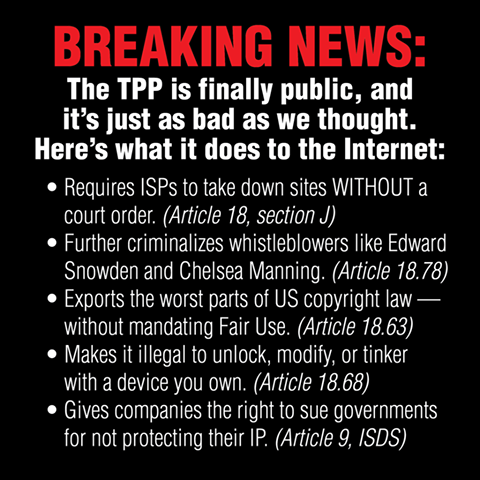#TPP and the Internet https://t.co/O9GA5SM3op