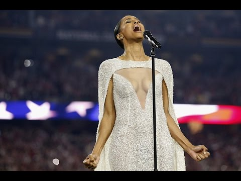 . @Ciara KILLED it during the national anthem at the National Championship last night --> https://t.co/u3ekF2AwRu https://t.co/oCcGxuL5bA