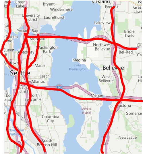 Washington State Dot On Twitter Seattle Traffic Map Is Out Of