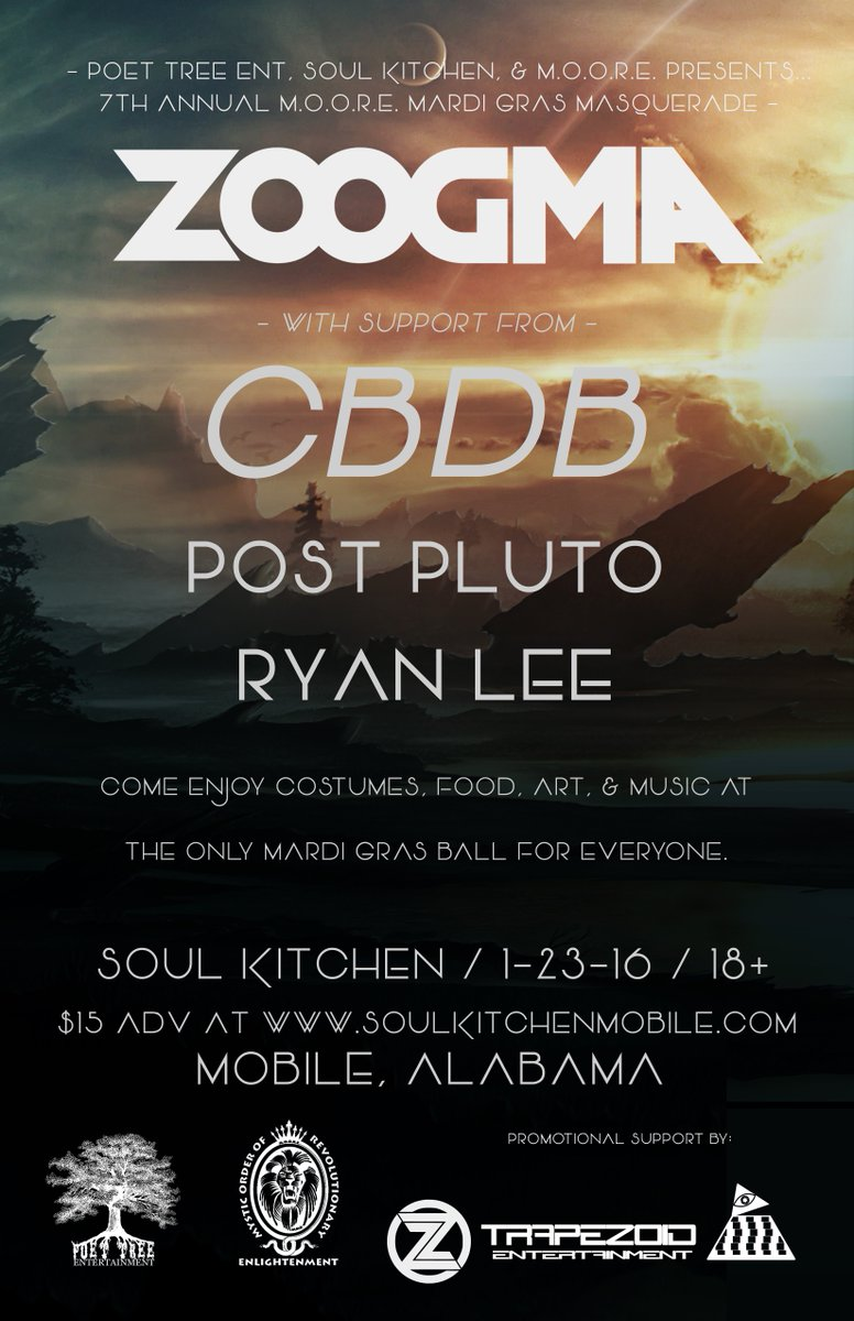 Alabama, RT this for a chance to win free tix to our show next week at @SoulKitchenMob! https://t.co/My9Z5siWAV