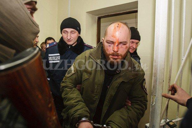 """Суд арестовал третьего из 5 задержанных за участие в конфликте на турбазе в Закарпатье членов """"Правого сектора"""" до 8 марта - Цензор.НЕТ 8662"""