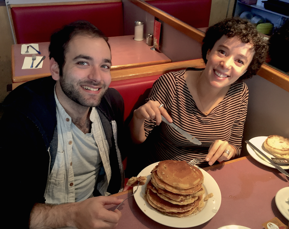 Today is Joel's birthday.He loved pancakes, so we're digging into some in his honor & to celebrate #thatdragoncancer https://t.co/yQS6zPxjPW