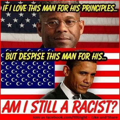 #outnumbered I'm a racist because I disagree with Obama's political policies? https://t.co/6z49u5W840