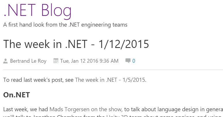 The Week in .NET is online! https://t.co/JAnjcrBEDI #dotnet https://t.co/bc9QD1jnD6
