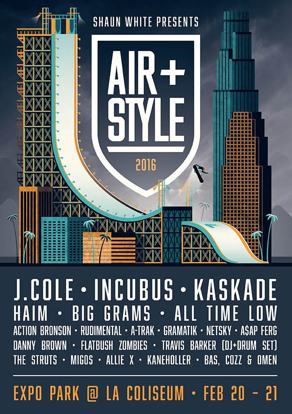 +LOS ANGELES New artists just announced for Air + Style LA! Gonna be nuts!  LA Tickets →https://t.co/3q1yZLDRrF https://t.co/0MOpHKqr9q