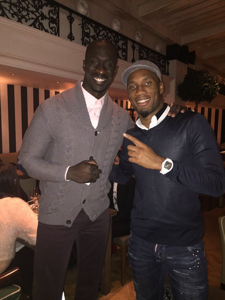 Had a great time breaking bread with @didierdrogba , great to talk @GalatasaraySK #cimbombom https://t.co/pS8xo5zpCd