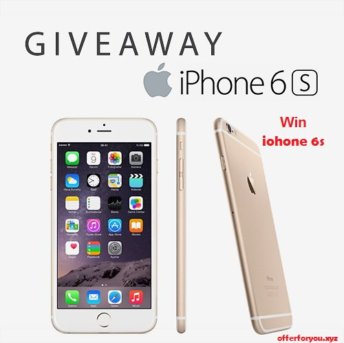 Giveaway iPhone SE