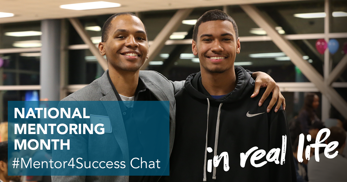 Please join us, @MENTORnational, & other mentoring orgs in #Mentor4Success Chat on 1/19/2016 at 3pm EST! #MentorIRL https://t.co/R0Ri0BSZ13