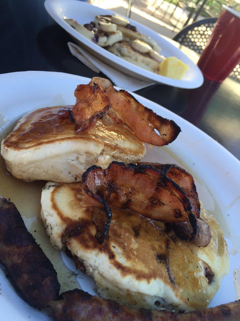 Bacon pancakes! #ThatDragonCancer https://t.co/WKbdgLvA3f