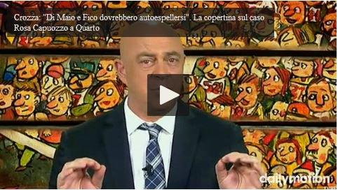 DiMartedì Video: Copertina Maurizio Crozza del 12 gennaio 2016