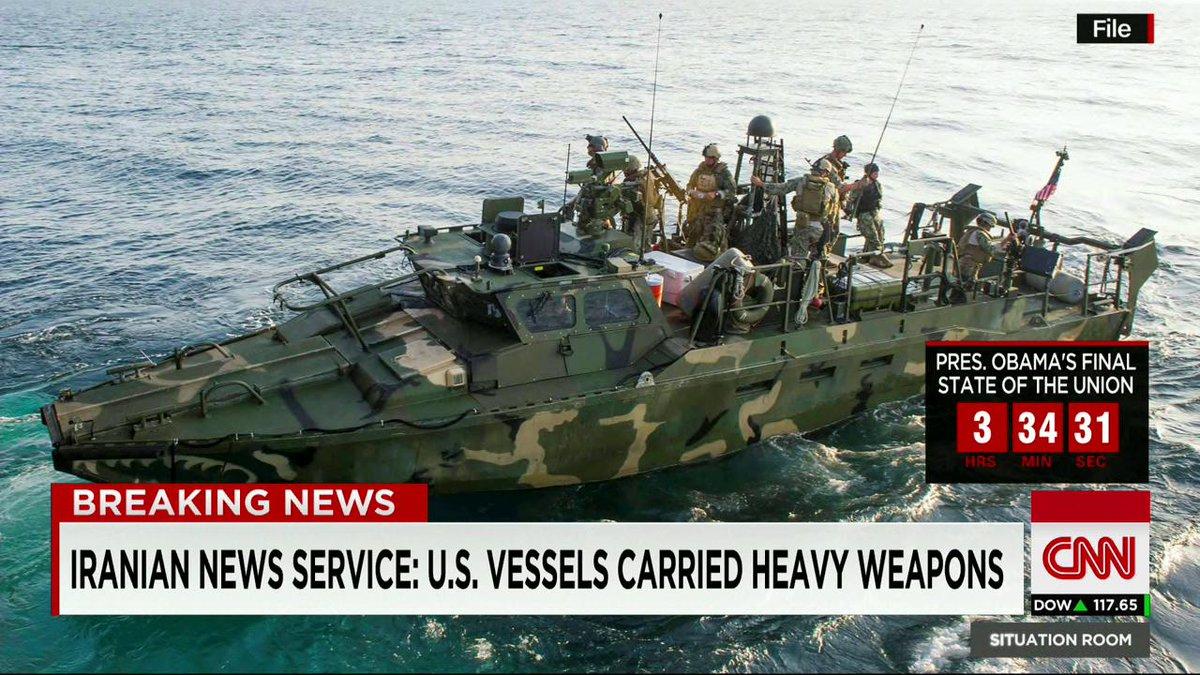 Иран задержал два военных корабля США, - Пентагон - Цензор.НЕТ 9073