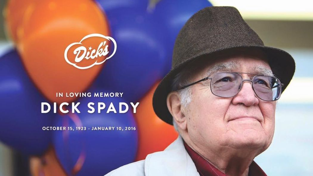 Dick Spady, founder of Dick's Drive-In, passes away at 92 https://t.co/VBZn3YmT4H https://t.co/TDnyD5gRNG